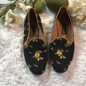 Zalo Floral Loafers